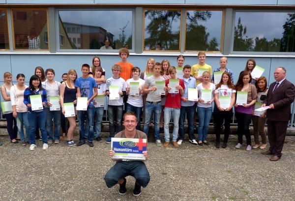 ASS-Schüler für humanitäres Engagement ausgezeichnet