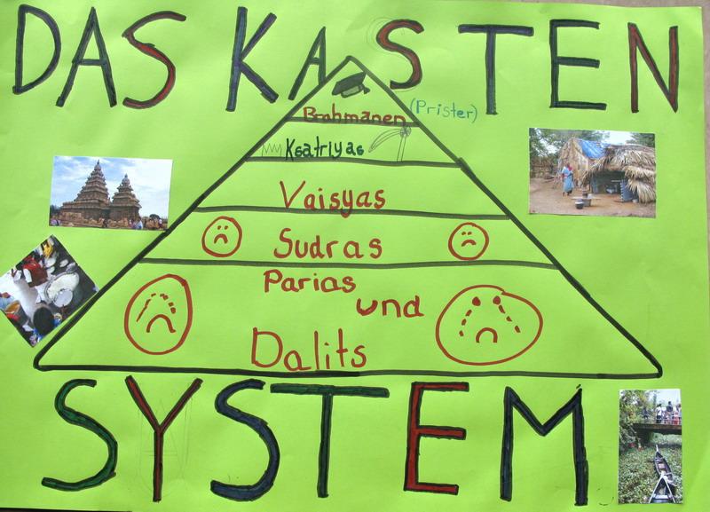 Die Indien-AG beschäftigt sich mit dem Kastensystem