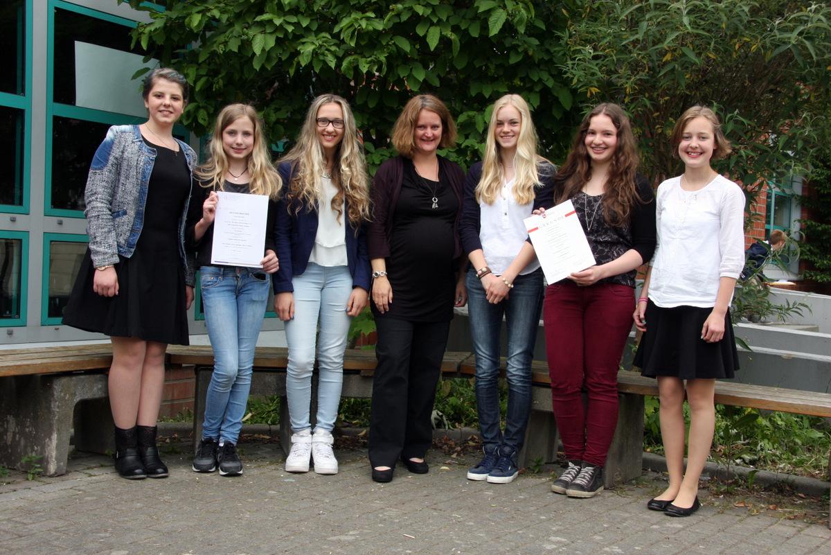 Zwei ASS-Teams gewinnen Preise beim Bundeswettbewerb Fremdsprachen