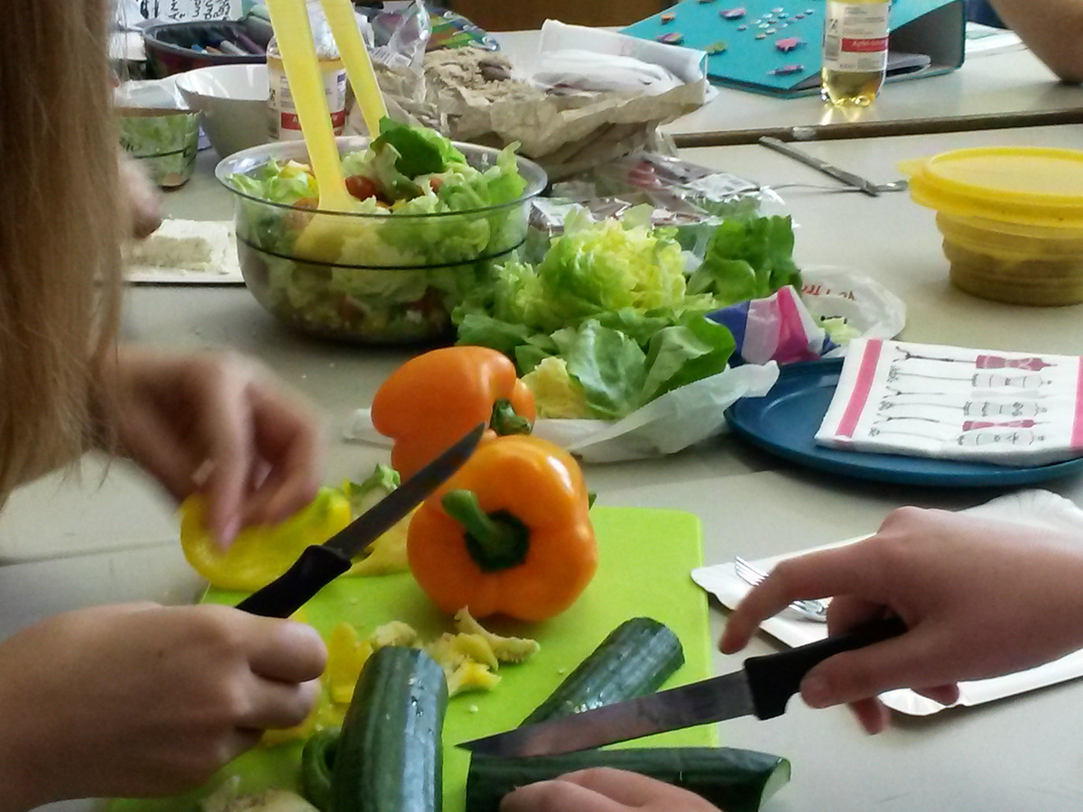 Ein Motto, 50 Projekte, 1.000 Schüler: Wie bleiben wir gesund?