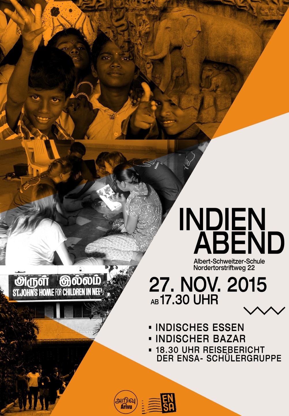 Indien-Abend am 27.11. ab 17:30 Uhr