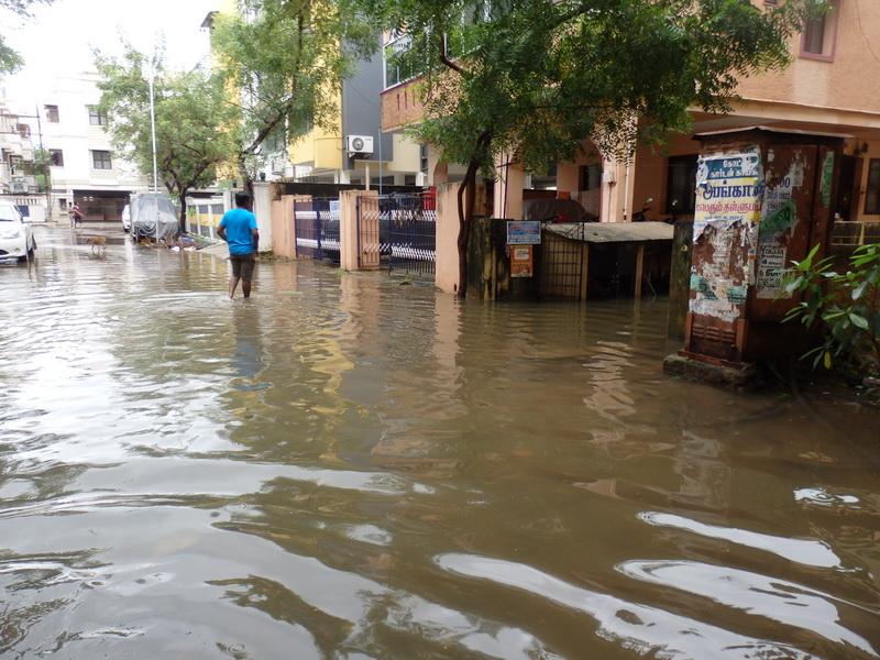 Katastrophale Überschwemmungen in der Region um unsere Partnerschule in Indien