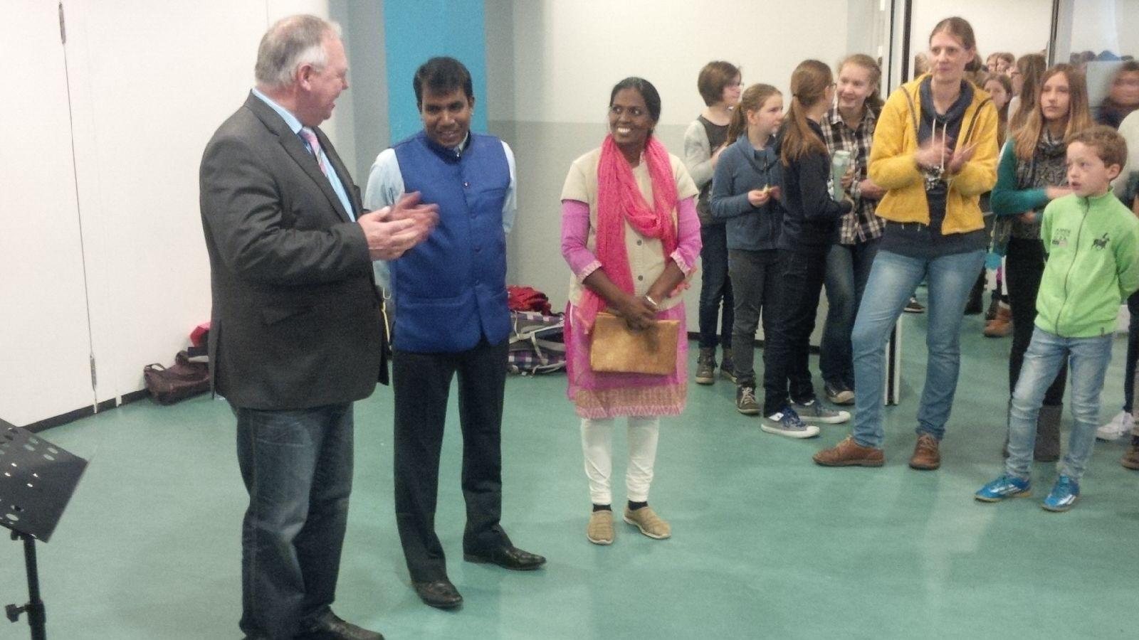 ASS bekommt Besuch aus Indien