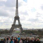 Ein Höhepunkt des Austausches: Ausflug nach Paris