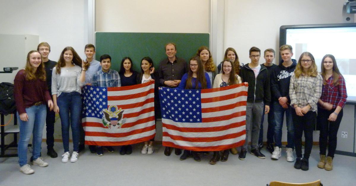 Besuch aus Amerika an der ASS