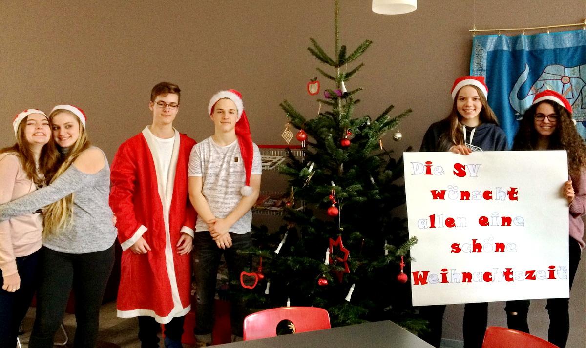 Die SV wünscht Frohe Weihnachten