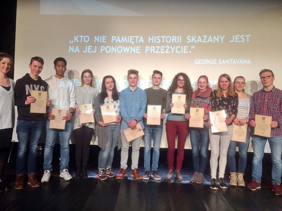 ASS-Schüler werden Botschaftern der Erinnerung