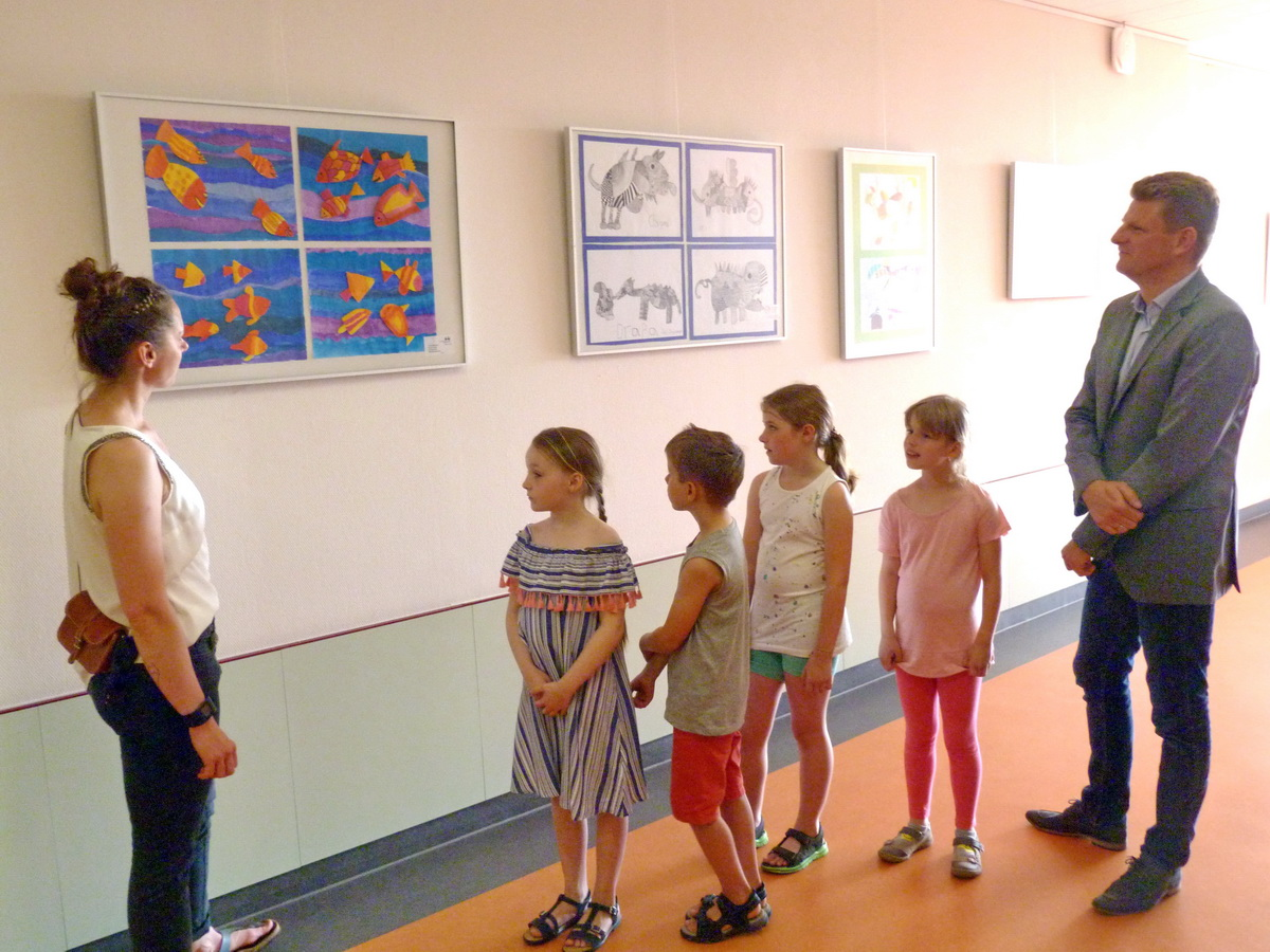 KiK – Zwanzigste Vernissage in den Nienburger Kliniken