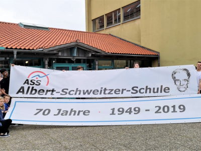 Vor 70 Jahren erhielt die Albert-Schweitzer-Schule ihren Namen