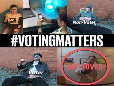Videospots zum Wählen die richtige Wahl im Distanzunterricht