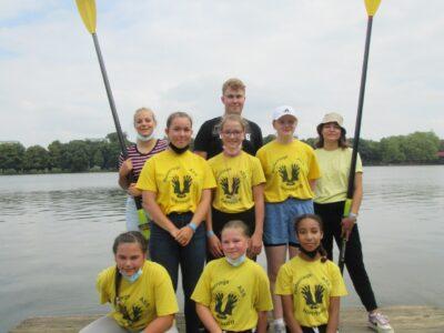 Ruderriege erfolgreich beim Deutschen Schüler-Ruder-Cup